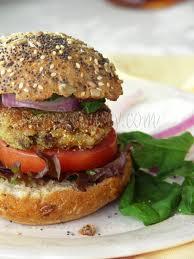 Almond Burger