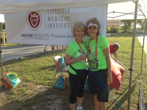Cyd & Kathy R -5K on 3-8-15JPG