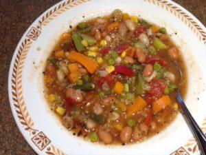 Instant Pot Veg Soup